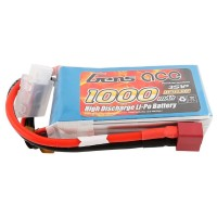 GENS ACE - BATTERY LIPO 3S 11.1V-1000-30C (DEANS) GE1-1000-3D