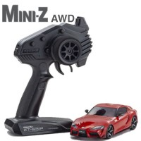 KYOSHO - MINI-Z AWD TOYOTA GR SUPRA PROMINENCE RED (MA-020/KT531P) 32619R