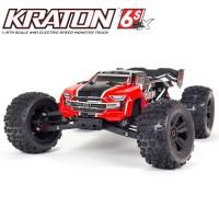 ARRMA - TRUGGY KRATON 6S V5 4WD BLX RTR RED ARA8608V5T1