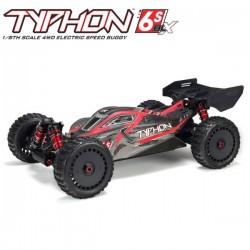 ARRMA - TYPHON 6S 4WD BLX 1/8 BUGGY RTR BLACK ARA8606V5