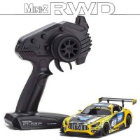 KYOSHO - MINI-Z RWD MERCEDES AMG GT3 YELLOW-BLACK (W-MM/KT531P) 32338YBK