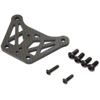 KYOSHO - PLATINE SUPERIEURE AVANT KYOSHO INFERNO MP10 - CARBONE 3.0 IFW626