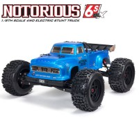 ARRMA - STUNT TRUCK NOTORIOUS 6S 4WD BLX 1/8 RTR V5 BLUE ARA8611V5T2