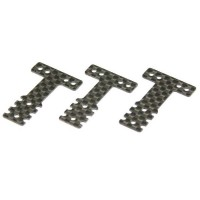 KYOSHO - PLATINE DE SUSPENSION CARBONE (T) MINI-Z MR03 RM-HM (3) - SOFT MZW404S