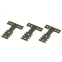 KYOSHO - PLATINE DE SUSPENSION CARBONE (T) MINI-Z MR03 MM-LM (3) - SOFT MZW403S
