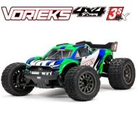 ARRMA - VORTEKS 4X4 3S BLX 1/10TH STADIUM TRUCK (GREEN) ARA4305V3T3
