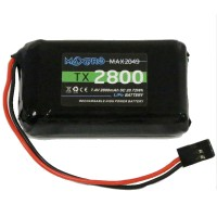 MAXPRO - BATTERIE LIPO TX 7.4V 2800MAH RADIO FUTABA 100031MAX2049