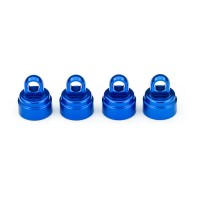 TRAXXAS - SHOCK CAPS ALUMINUM BLUE-ANODIZED (4) (FITS ALL ULTRA SHOCKS) 3767A
