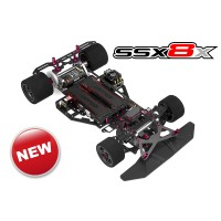 Team Corally - SSX-8X Car Kit - Chassis kit only, no electronics, no motor, no body, no tires C-00132