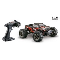 1:16 4WD High Speed Monster Truck, 2,4GHz Black/Red