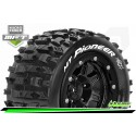 Louise RC - MFT - MT-PIONEER - Maxx Tire Set - Mounted - Sport - Black 3.8 Bead-Lock