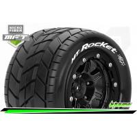 Louise RC - MFT - MT-ROCKET - Maxx Tire Set - Mounted - Sport - Black 3.8 Bead-Lock