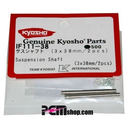 KYOSHO - AXES 3X38MM. INFERNO (2) SUR FUSEE AVT- IF316/IF340