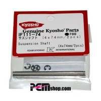 KYOSHO AXES 4X74MM. INFERNO (2) AVT/ARR INFERIEUR - IF314/IF338