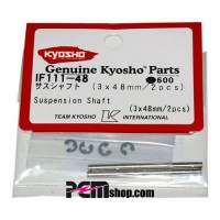 KYOSHO AXES 3X48MM. INFERNO (2) SUR FUSEE ARR