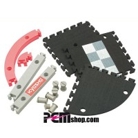 KYOSHO CIRCUIT 50 45 DEGRE CORNER KIT (12pcs)