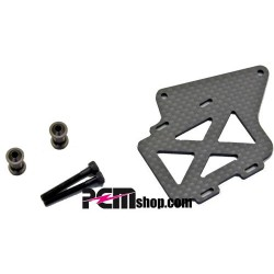 KYOSHO RX FRONT BATTERY PLATE SET MP9 TKI WC