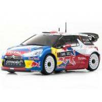 KYOSHO MINIZ ASF 2.4Ghz MA015 DWS AWD CITROEN DS3 WRC2011 *SERIE LIMITEE* Réf. : 30534SL