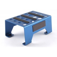 FASTRAX - UNIVERSAL ALUMINIUM CAR STAND BLUE FAST410B
