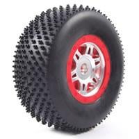 Fastrax short course pneus montés collés Bullseye pour Slash arr & 4X4 av/arr ref FAST0051