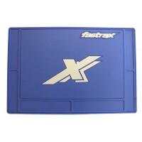 FASTRAX LARGE PIT MAT BLEU 70cmx50cm ref FAST413L-BL