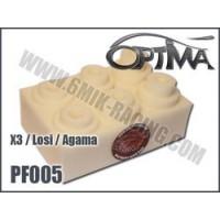 PF005 6MIK MOUSSES DE FILTRE A AIR (6) pour LOSI / AGAMA