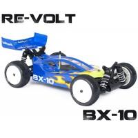 HOBBYTECH - REVOLTE BX-10 3.0 BUGGY 1/10 RTR NOIR