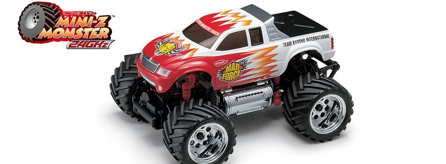 Kits Mini-Z Monster