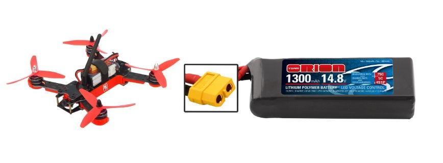 Batteries pour Drones Racer