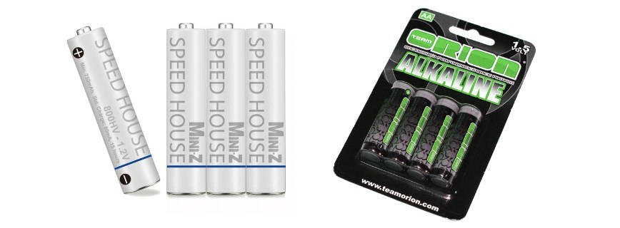 Rechargeable batteries / Alkaline