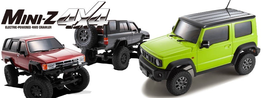 Kits Mini-Z 4X4 Crawler