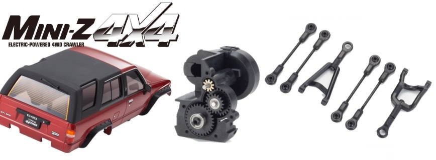 Parts & Options Mini-Z 4X4