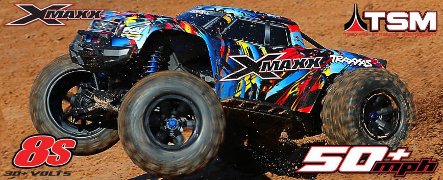 TRAXXAS X-MAXX ROCK N'ROLL !
