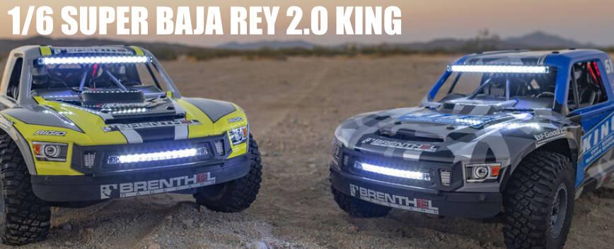 LOSI SUPER BAJA REY 2.0 1/6 4WD KING