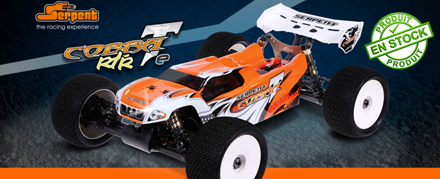 SERPENT COBRA TRUGGY-E RTR 1/8