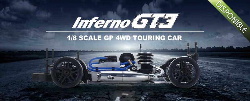 KYOSHO INFERNO GT2 RACE SPECS AUDI R8 LMS #33006