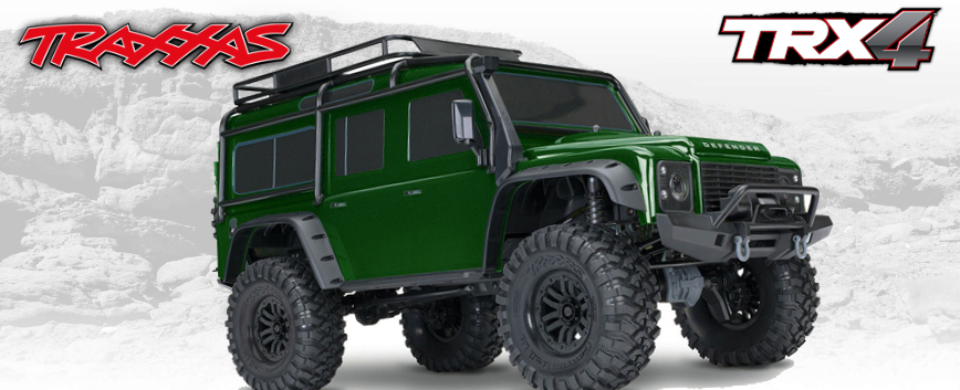 TRAXXAS TRX-4 Limited Edition Vert RTR 82056-4