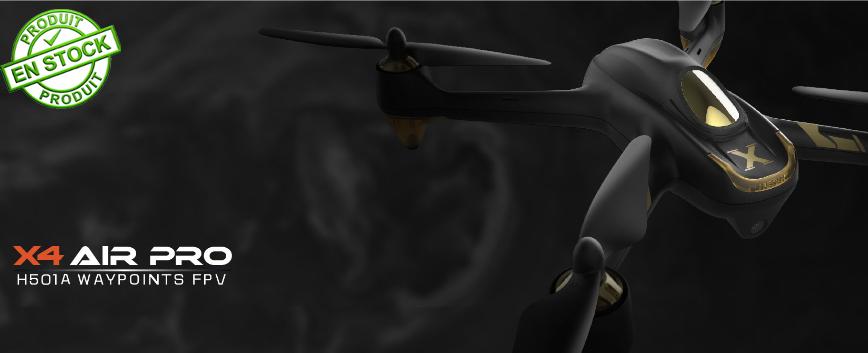DRONE HUBSAN 501A X4 AIR PRO W/GPS 1080P H501A