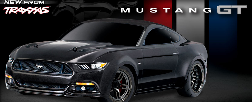 TRAXXAS FORD MUSTANG GT !