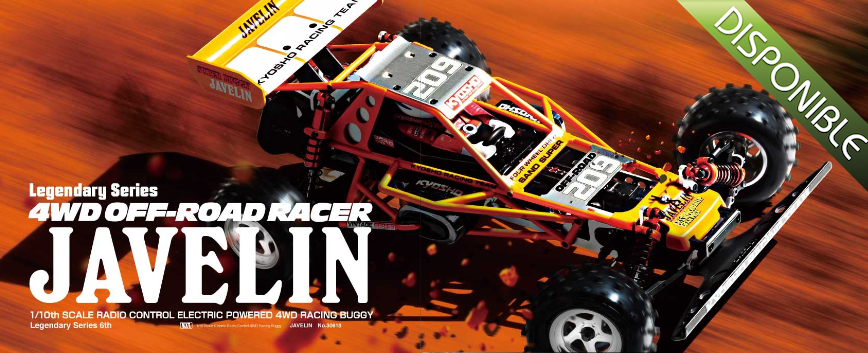 KYOSHO JAVELIN 1/10 LEGENDARY SERIES 30618