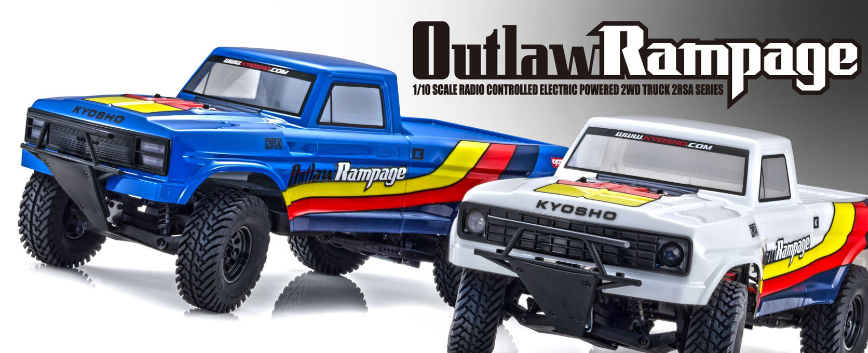 KYOSHO OUTLAW RAMPAGE !!
