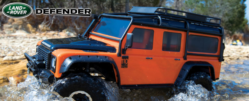 TRAXXAS LAND ROVER DEFENDER ADVENTURE RTR