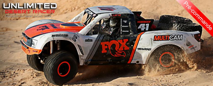 TRAXXAS UNLIMITED DESERT RACER VXL !
