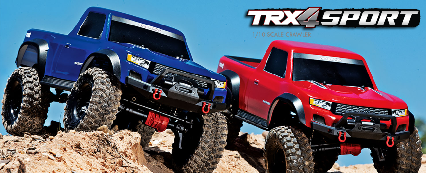 TRAXXAS TRX-4 SPORT TQI RTR
