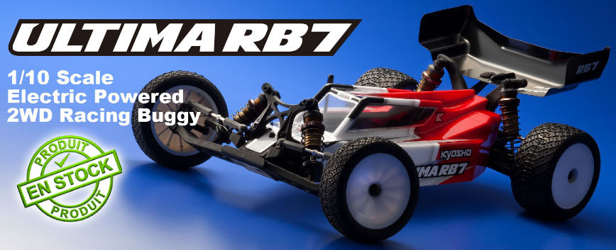 KYOSHO BUGGY ULTIMA RB7 1:10 2WD KIT 34303B
