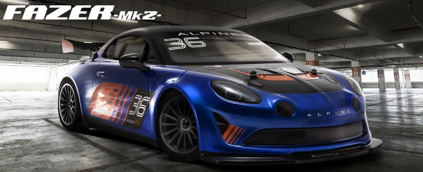 KYOSHO FAZER MK2 ACURA NSX GT3 RACE CAR 1:10 READYSET