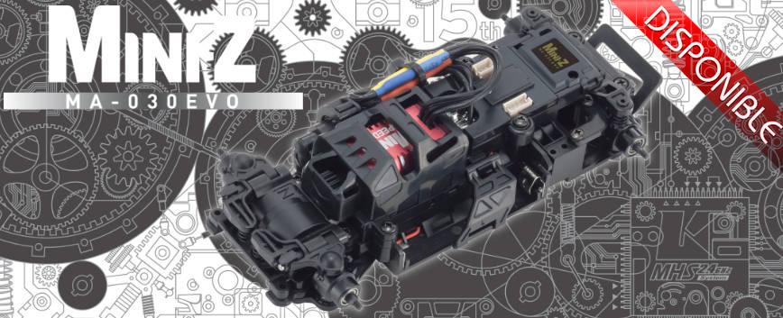 KYOSHO MINI-Z MA030 EVO CHASSIS SET (AWD - 8500KV) 32180B