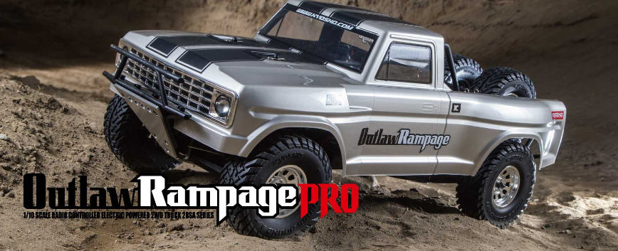 KYOSHO OUTLAW RAMPAGE PRO