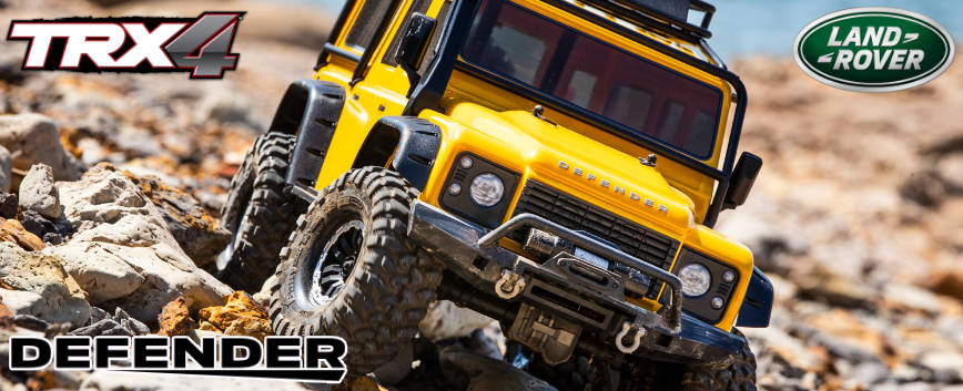 TRAXXAS TRX-4 DEFENDER YELLOW