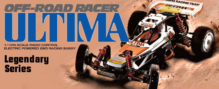 KYOSHO ULTIMA 1:10 2WD KIT *LEGENDARY SERIES* 30625